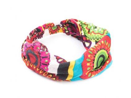 Šátek do vlasů Hippie mandaly