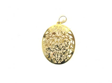 Mosazný přívěšek Ornamentmosazný přívěšek ornament