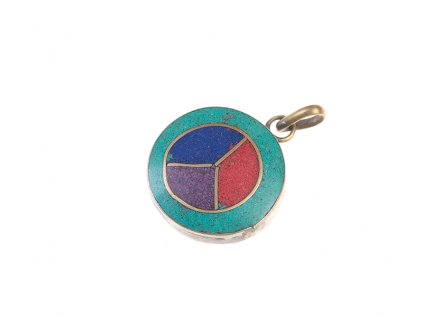Ochranný tibetský amulet Peace