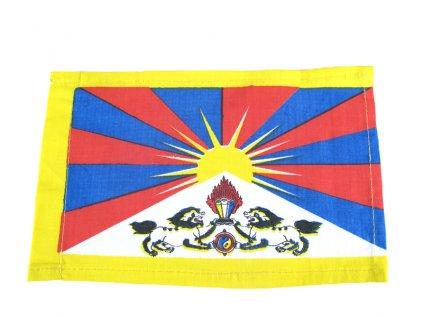 Tibetská vlajka z bavlny střední