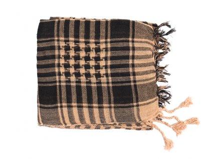 Šátek arafatka béžově hnědý