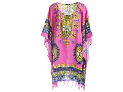 Tunika Africa style růžová