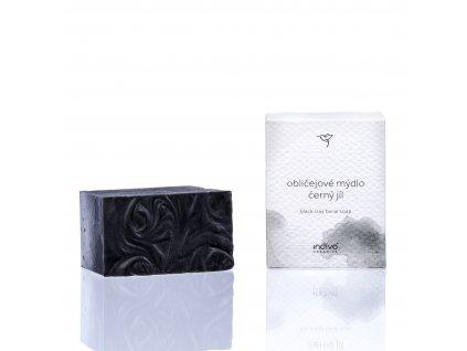 obličejové mýdlo černý jíl