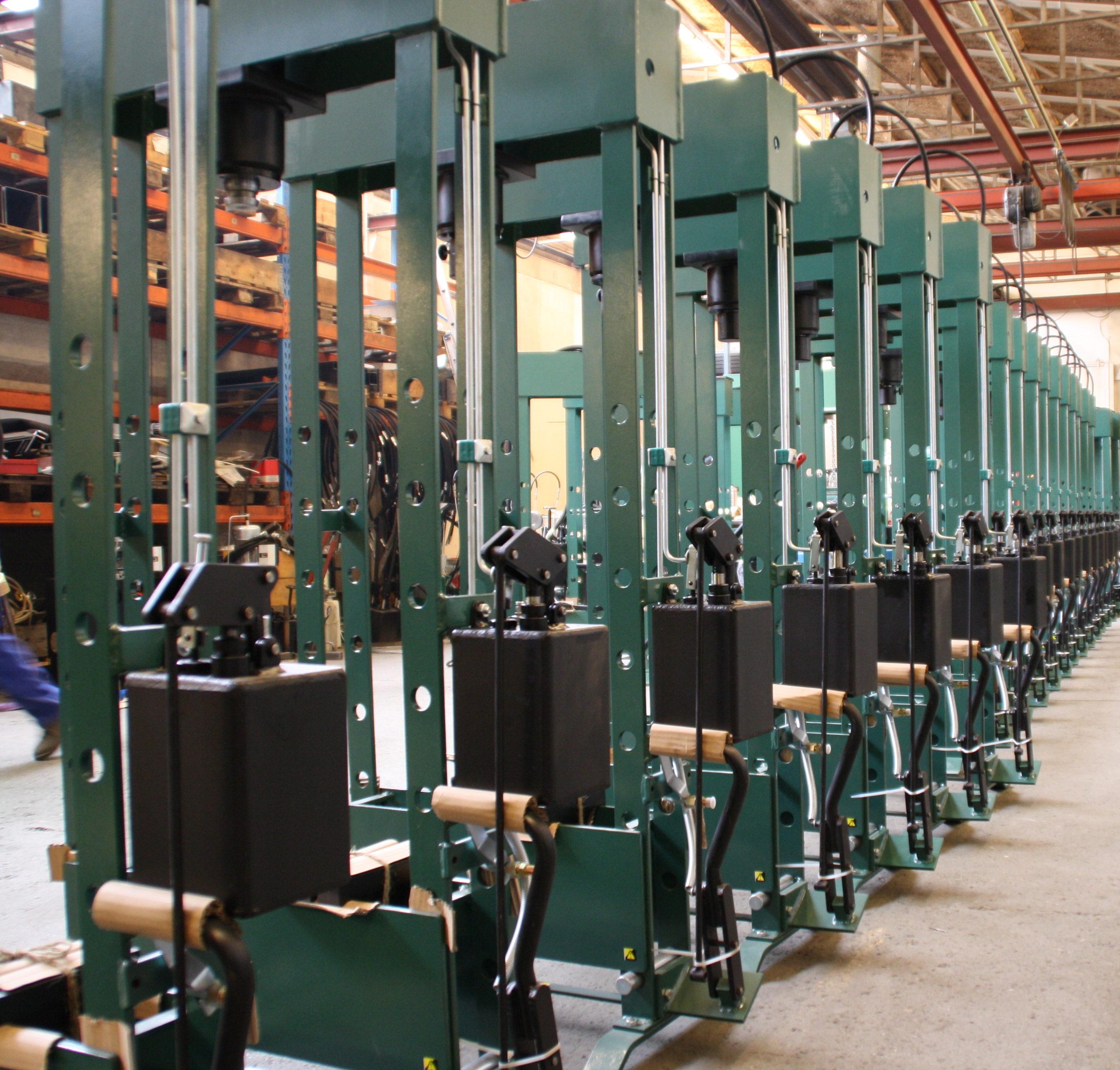 Manufacturing of Compac presses