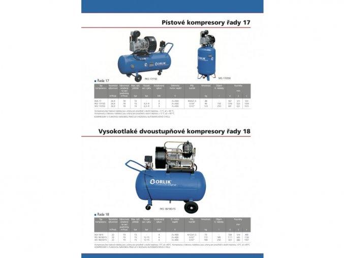 Vzduchovy kompresor stojaty ORLIK SKS 9 200 orez