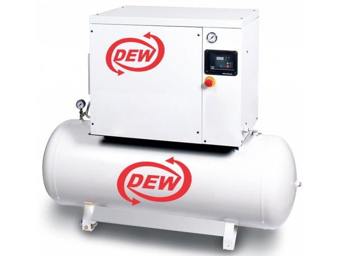 Kompresor odhlucneneny se vzdusnikem DEW