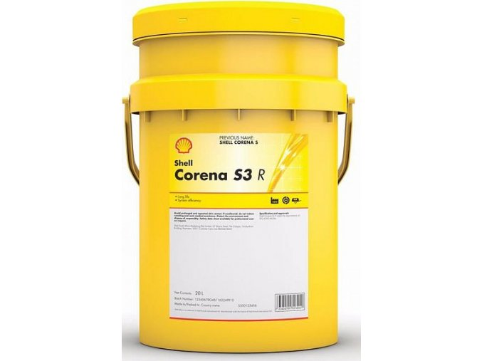 Kompresorový olej Shell Corena S3