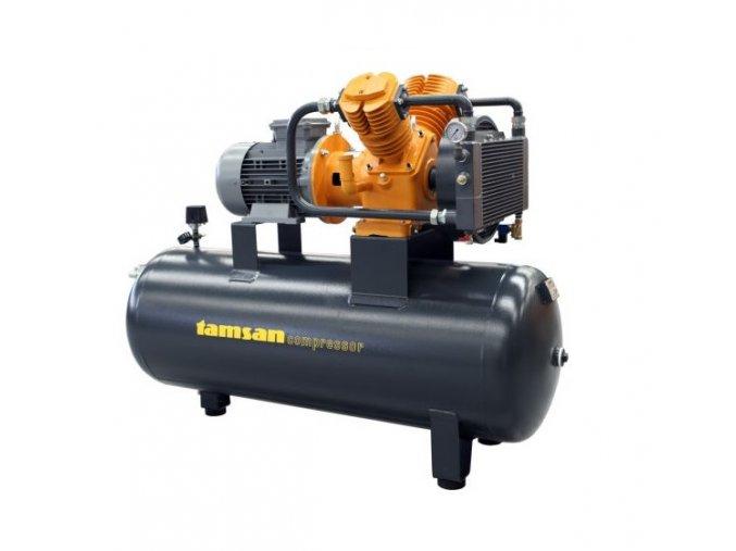 Olejový kompresor 2 hp 100 l