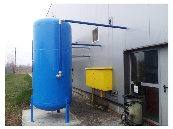 vzdusnik tlakova nadoby 3000 litru 3 m