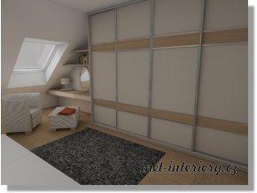 Vizualizace ložnice M