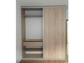 vestavěná skříň Bordolino 2
