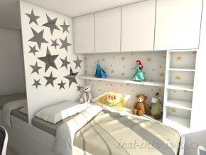 dětský pokoj hvězda 2