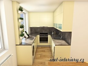 kuchyň do paneláku