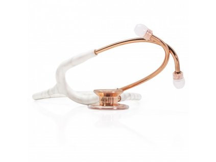 traditional marble rose gold stethoscope