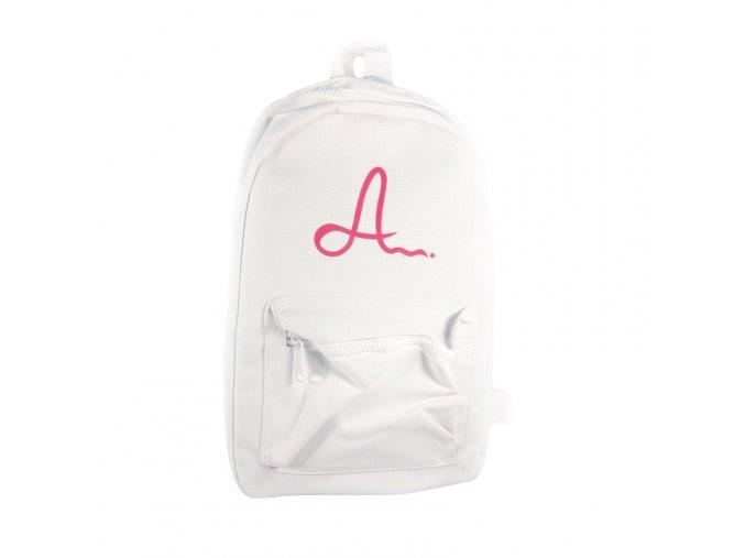 Bílý batoh Adam