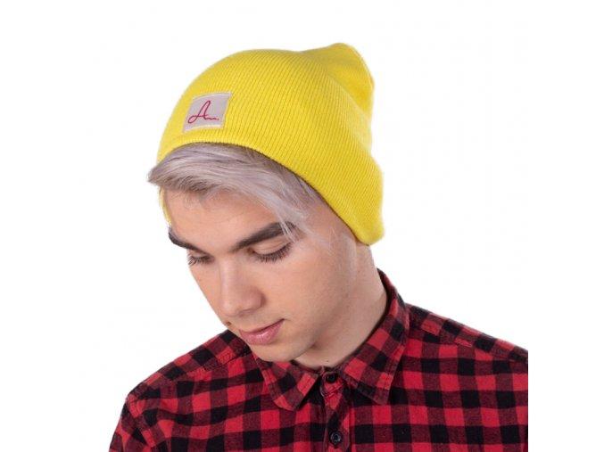 Žlutá čepice Adam