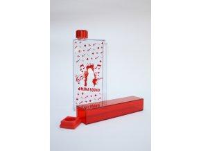Školní lahev červená Mína