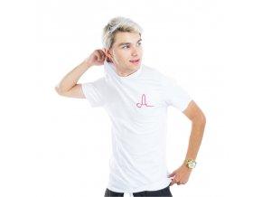 Bílé tričko Adam