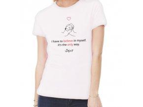 dejvid tričko