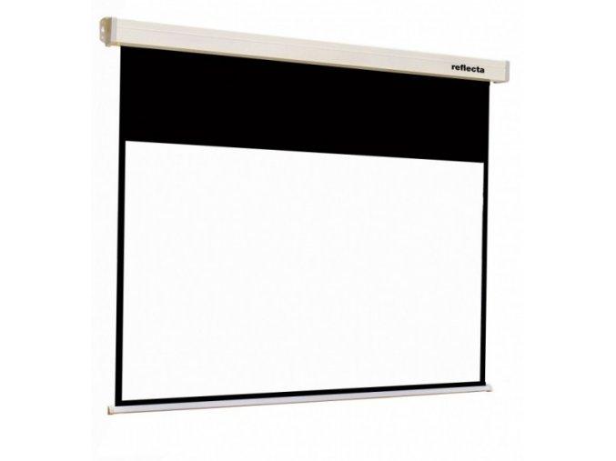 Plátno Reflecta Rollo Crystal Lux 200x152cm, 16:9 - roletové na stěnu