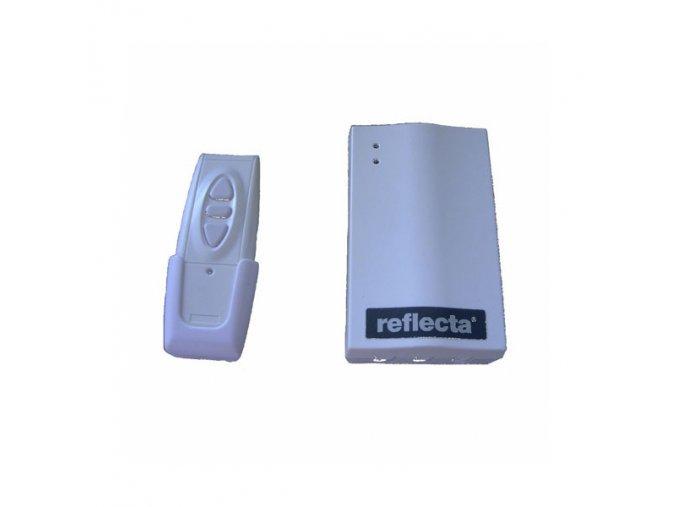 RC rádiové dálkové ovládání pro projekční plátno Reflecta Motor