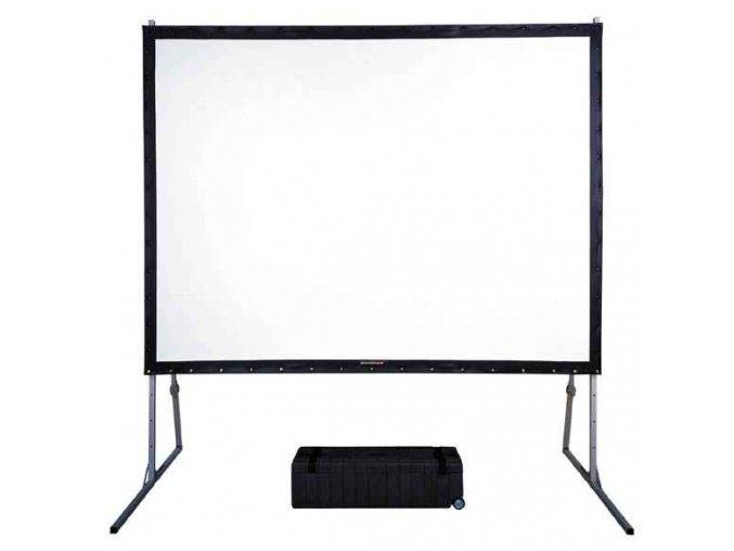 Plátno Reflecta MOBIL QUICK SET Lux (526x400cm, 4:3, silnější profil) - rámové přenosné