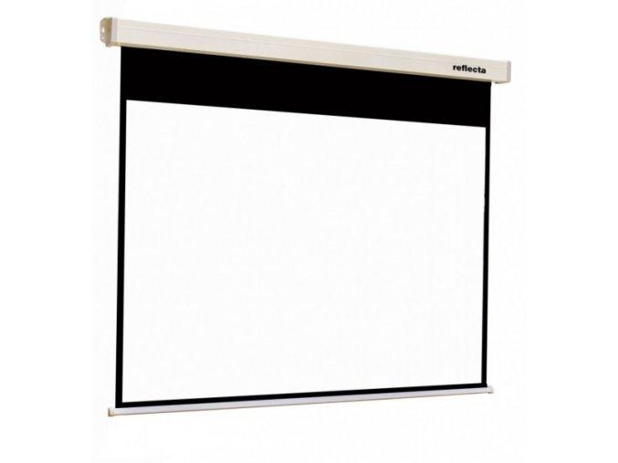 Plátno Reflecta Rollo Crystal Lux 200x159 cm, 4:3 - roletové se SOFT brzdou