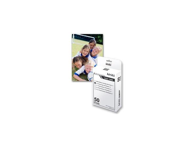 Set 50ks papíru 10x15 vč. YMCO kazety s fólií pro HiTi 630, 640