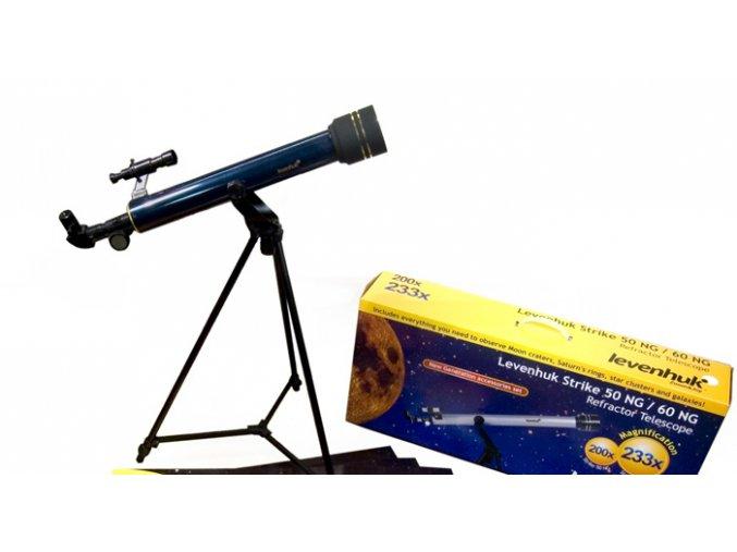 Hvězdářský dalekohled Levenhuk Strike 50 NG