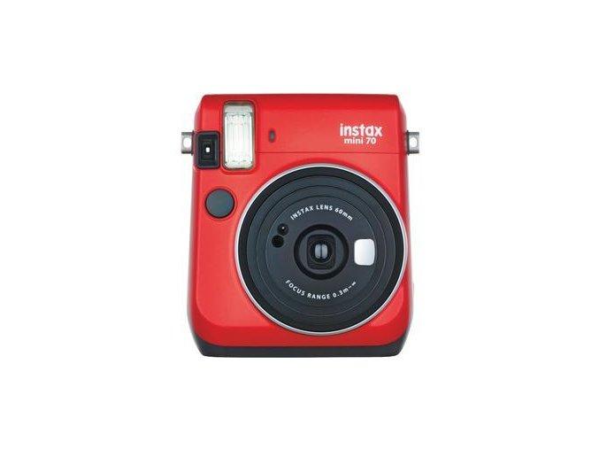 Fujifilm Instax Mini 70 červený - Passion Red
