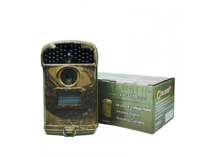 Fotopast Ltl. Acorn 3310A CZ + 8GB SD karta  + LED svítilna + doprava zdarma