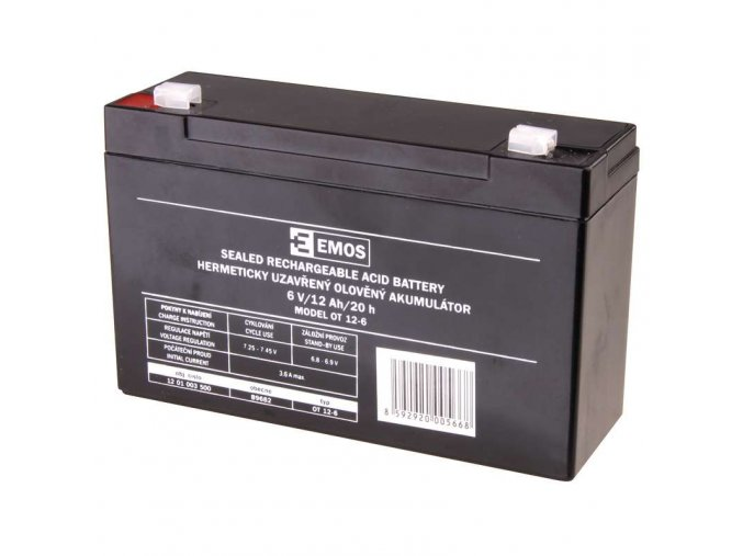 akumulator emos ot12 6