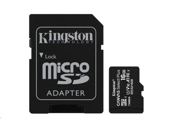 kingston 16gb canvas select plus
