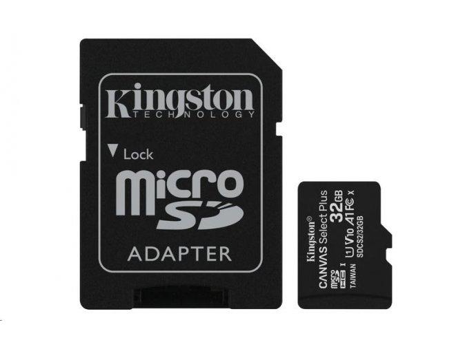 kingston 32gb canvas select plus