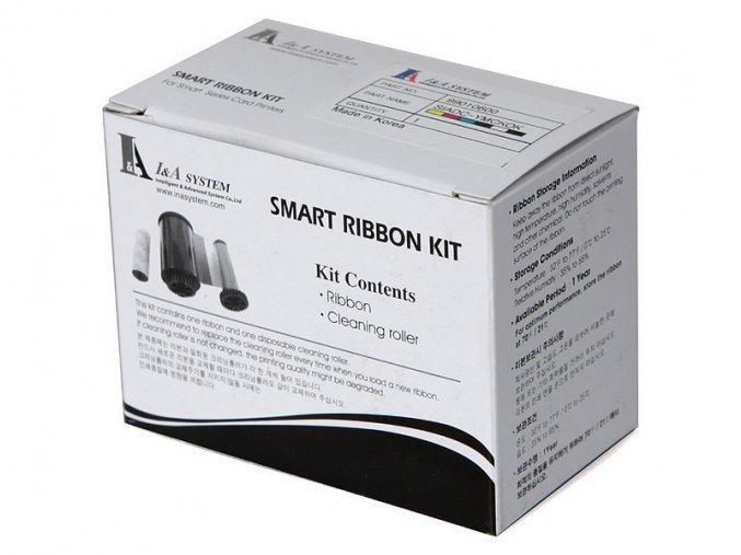 Media Smart - YMCKFO color ribbon / 200 potisků