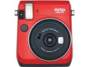 Fujifilm Instax Mini 70 červený - Passion Red