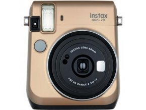 Fujifilm Instax Mini 70 zlatý - Stardust Gold