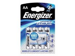 4ks Energizer Ultimate Lithium AA tužkové baterie
