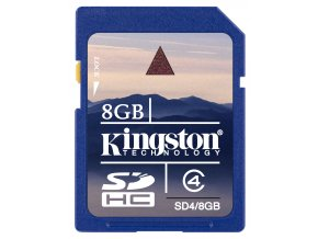 Kingston SDHC 8GB paměťová karta