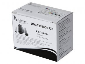 Media Smart - SILVER mono ribbon / 1200 potisků