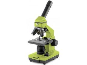 Mikroskop Levenhuk Rainbow 2L PLUS Lime / Limetka