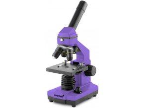 Mikroskop Levenhuk Rainbow 2L PLUS Amethyst / Ametyst