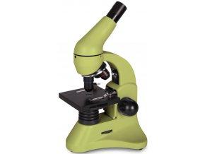 Mikroskop Levenhuk Rainbow 50L PLUS Lime / Limetka