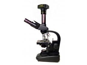 Digitální trinokulární mikroskop Levenhuk D670T