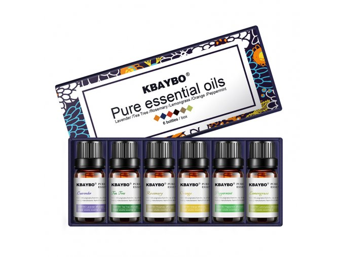 Esencialni vonne oleje pro aromaterapii