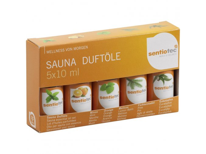 Kolekce vonných olejů Sentiotec