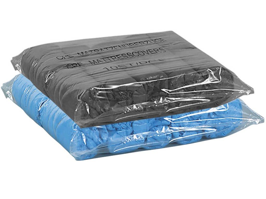 unigloves ochranné povlečení lehátek modré a černé