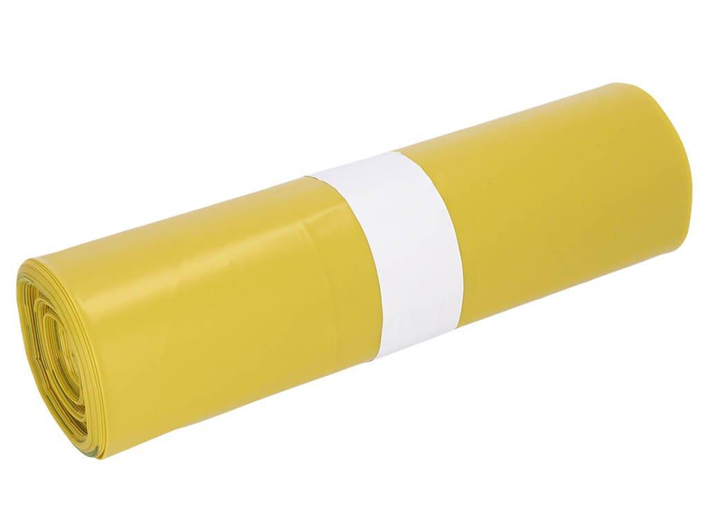 pytel na kontaminované oblečení ve žluté roli