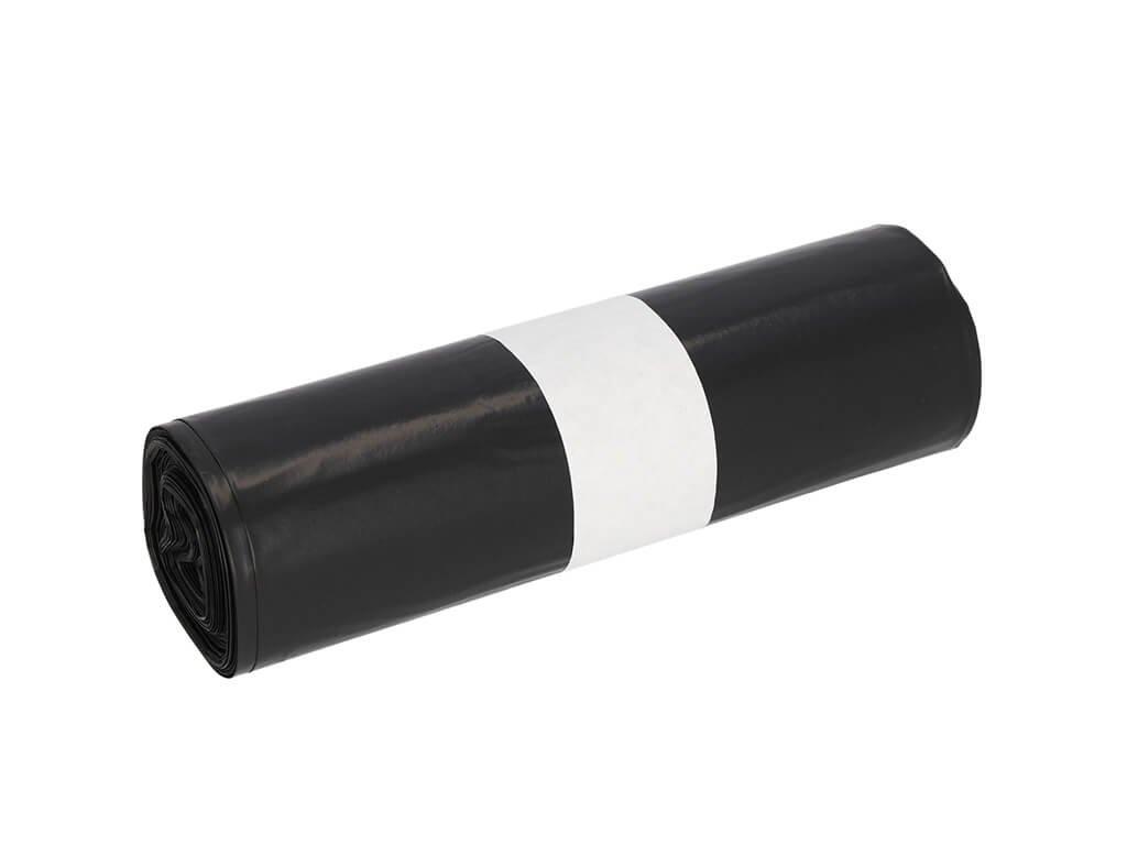 pytel na odpadky 45 µm v černý roli