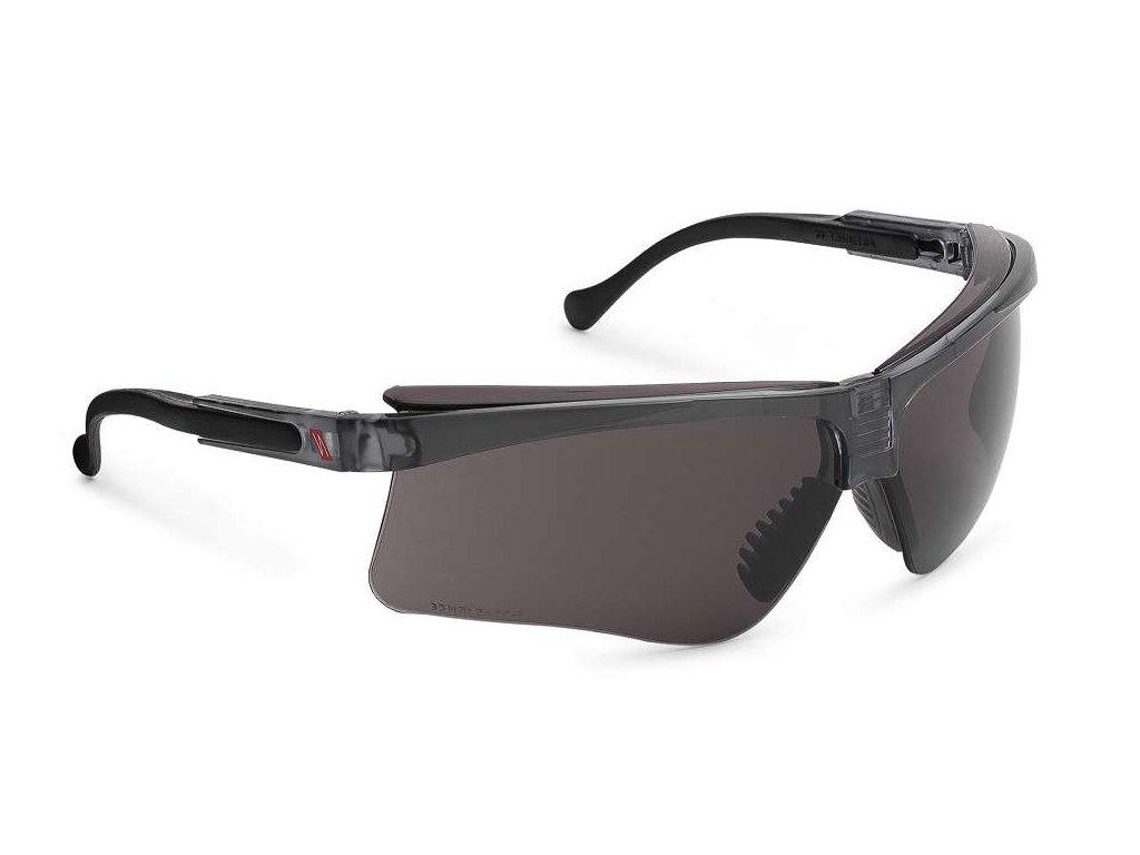 moderní ochranné brýle tmavé premium